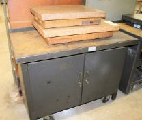 Granite Plates & Cabinet