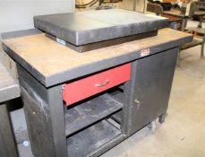 Granite Plate & Cabinet