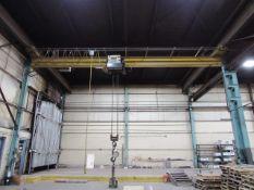 P&H 10 Ton Underslung Bridge Crane