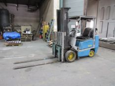 Yale Model 6LC060TENUAE092 5,500lb Propane Forklift