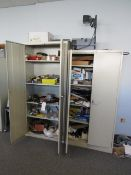 (2) Cabinets & Contents