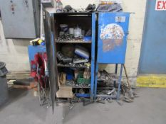 Steel Cabinet with Wrenches & Sockets