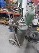 Acetylene Torch Cart