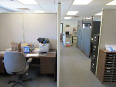 (3) Cubicles (in downstairs office)
