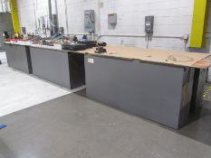 (6) 2-Door Heavy Duty Cabinets