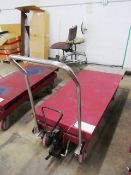 Northern Industrial 2,200lb Capacity Hydraulic Portable Die Lift Cart