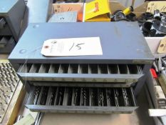 Hout 5 Drawer Index Box with Drills