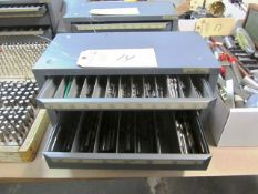 Hout 3 Drawer Index Box with Drills
