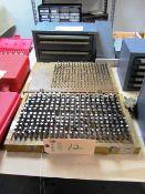 (2) Sets of Pin Gauge Sets