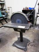 Pedestal 20'' Disc Sander / Grinder