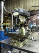 Precision Bench Drill 1.5hp 8'' x 28'' T-Slotted Table