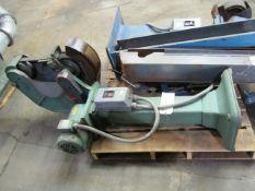 Burr King Model 750 Single End Belt Sander