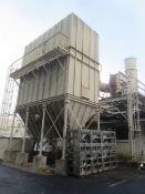 C-1 GMD Model CV 684-1-5WI 3-Compartment Pulse Bag Dust Collector