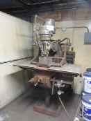 Bridgeport 1hp Vertical Milling Machine