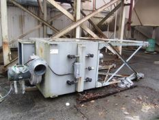 UAS 8-Cartridge Pulse Dust Collector with Chicago Blower Sand 10hp Motor, (not in service)