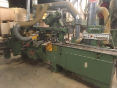 Wadkin 6 Head Moulder.