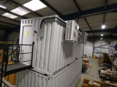 Shipping Container (20 x 8) Fitted Out For Use As A Data Centre