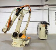 Kawasaki Robot - ZD 130S cw Control Cabinet & Teach Pendant.
