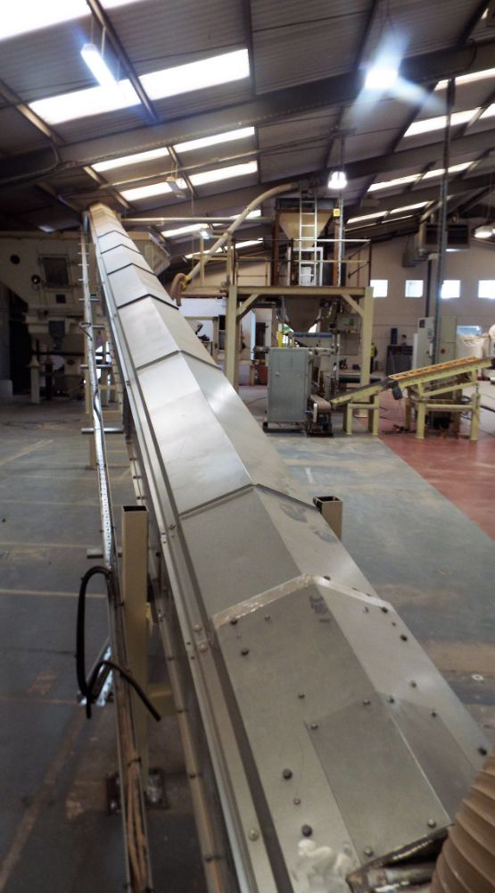 Certain Contents of A Bagging Line & Its Support Equipment by On Line Timed Auction.