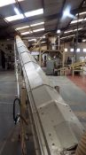 Unknown OEM - Electrically driven, 25 metre, inclined, covered, belt conveyor