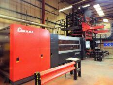 Amada LC3015 X1 NT 4KW Laser Cutting Centre.
