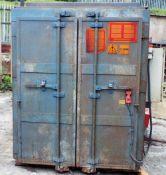 PCP- PTR 88 - Burn Off Oven cw Loading Bogey.