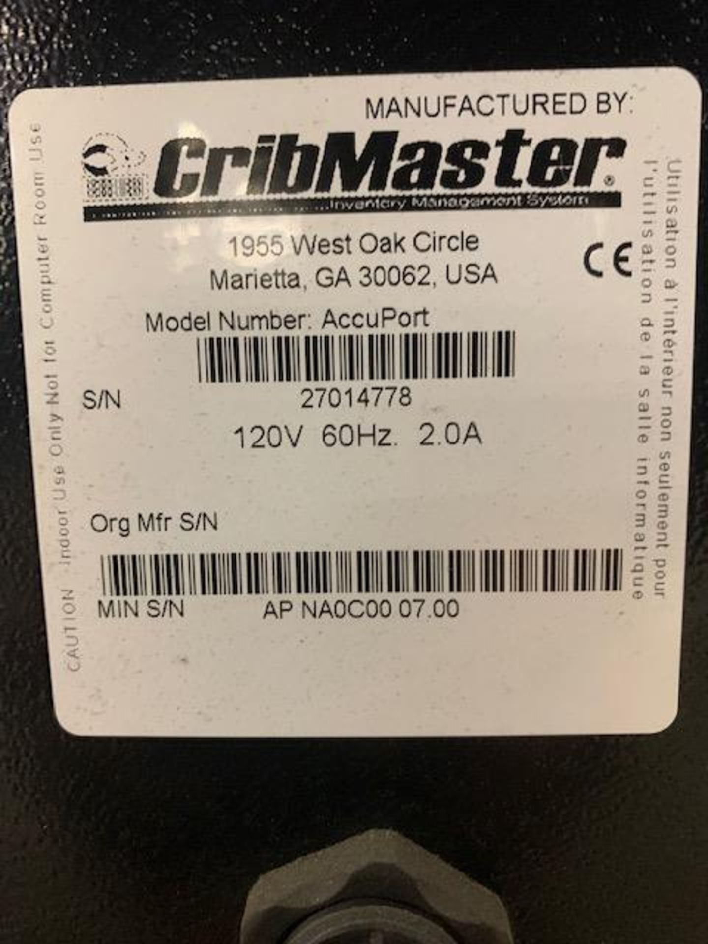 Cribmaster AccuPort - Image 6 of 6