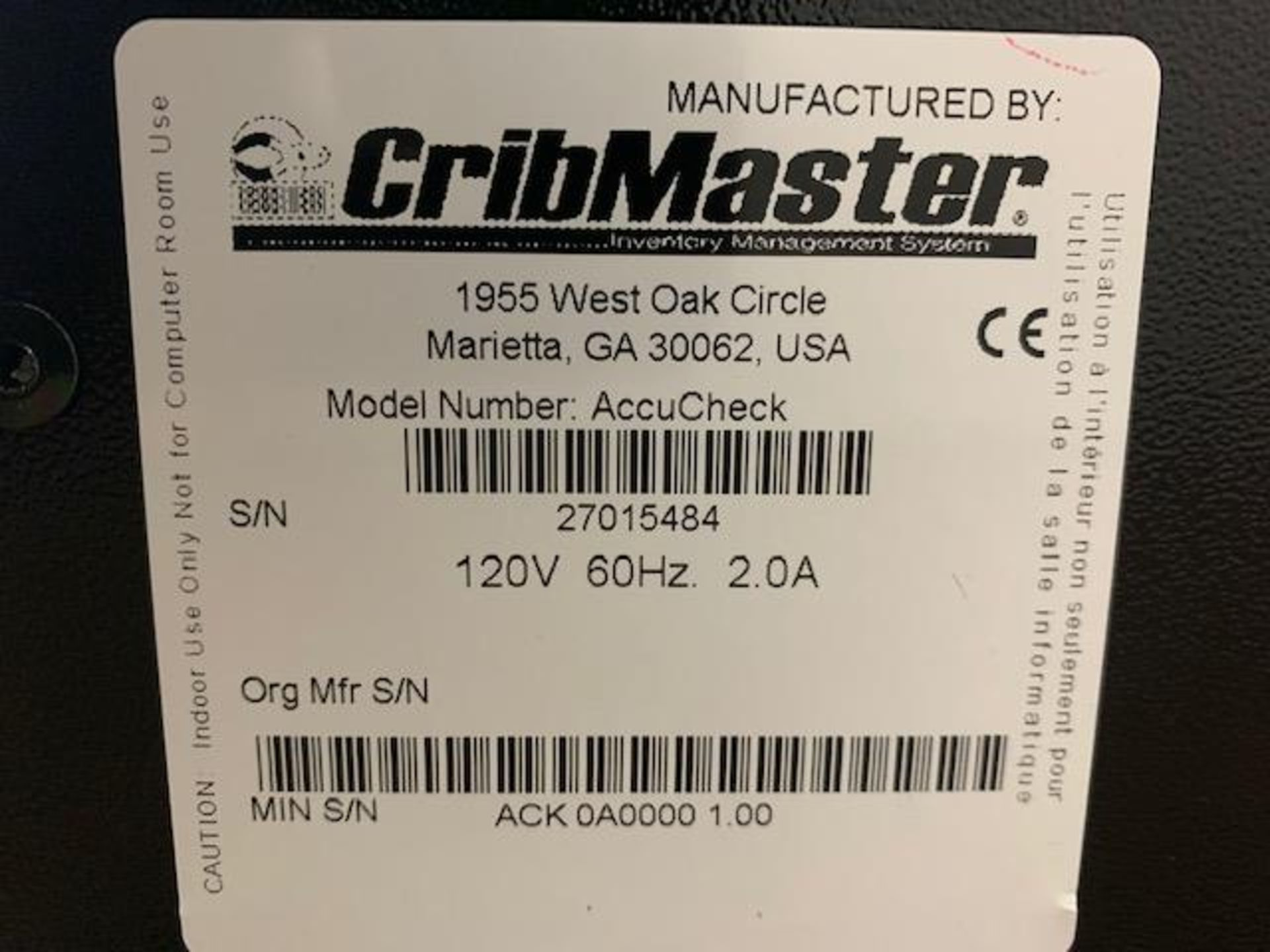 Cribmaster AccuCheck - Image 2 of 7