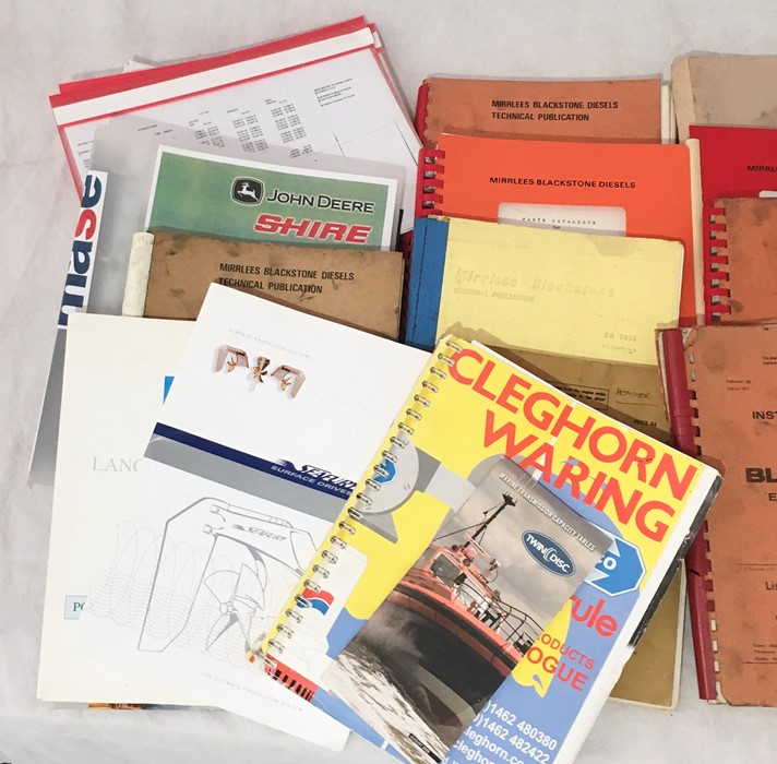 A collection of various vintage manuals and other engineering literature including John Deere, - Image 2 of 4