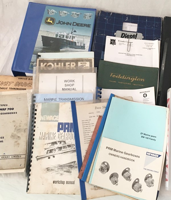 A collection of various vintage manuals and other engineering literature including John Deere, - Image 3 of 3
