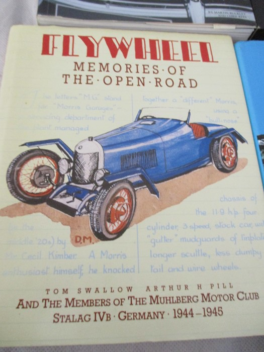 A small collection of car related books etc including MGB Haynes manual, Drivers handbook etc. - Image 8 of 10