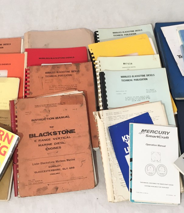 A collection of various vintage manuals and other engineering literature including John Deere, - Image 3 of 4