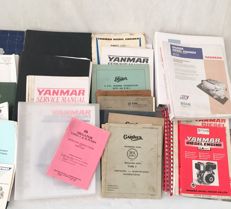 A collection of various vintage manuals and other engineering literature including John Deere, - Image 2 of 3