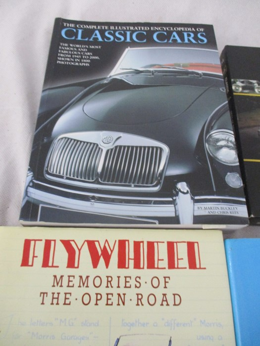A small collection of car related books etc including MGB Haynes manual, Drivers handbook etc. - Image 7 of 10