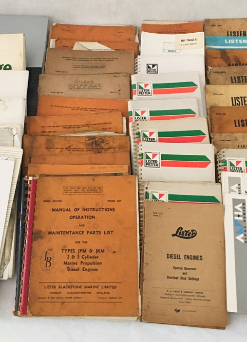 A large collection of various Lister manuals and engineering literature both vintage and more recent - Image 6 of 7