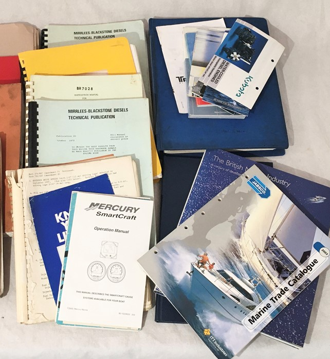 A collection of various vintage manuals and other engineering literature including John Deere, - Image 4 of 4