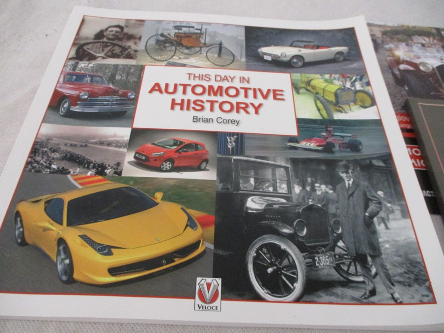 A small collection of car related books etc including MGB Haynes manual, Drivers handbook etc. - Image 3 of 10