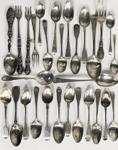 A collection of hallmarked silver cutlery etc. total weight 505g