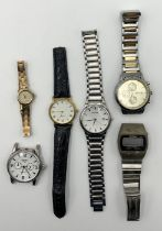 A small collection of watches including Sekonda, Accurist etc.