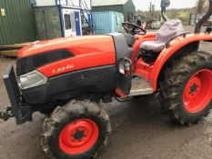 KUBOTA L3540 4WD COMPACT TRACTOR. 910 REC HOURS. WITH ROLL BAR. SN:60741. WHEN TESTED WAS SEEN TO DR