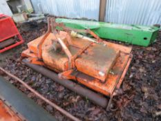 DOWDESWELL 6FT ROLLER ROTARY MOWER, TRACTOR MOUNTED WITH PTO.