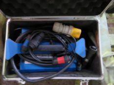 1 X UNIVERSAL S-315 110VOLT 2470W DRAINAGE PIPE FUSION WELDER UNIT. IN CASE WITH CABLES ETC.