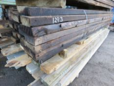 """APPROX 40NO 7""""X2"""" TIMBERS, 8-9FT LENGTH APPROX."""