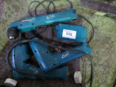 3 X MAKITA BATTERY DRILLS. UNTESTED, CONDITION UNKNOWN.