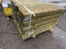 LARGE PACK OF FEATHER EDGE CLADDING TIMBERS, 1.2M X 0.105M APPROX.