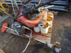 PALLET CONTAINING POWER TOOLSETC, CONDITION UNKNOWN.