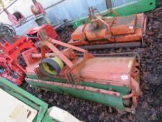 FRONT MOUNTED TRACTOR FLAIL MOWER, CARROY-GIRADON. 2M WIDE WITH ROLLERS. DIRECT EX LOCAL COMPANY DOI