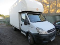 IVECO 35S11 CURTAIN SIDED TRUCK REG: YJ61 KXH. 167,131 REC MILES. DIRECT FROM EVENTS COMPANY, BEIN