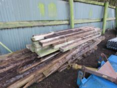 LARGE QUANTITY OF USEFUL TIMBER 8FT -15FT APPROX.