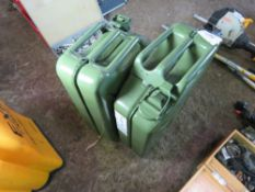 2 X GERRY FUEL CANS.